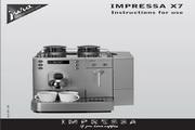 JURA IMPRESSA X7咖啡机 英文使用手册
