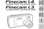 京瓷 Finecam L4数码相机英文说明书