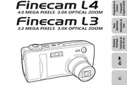 京瓷 Finecam L3数码相机英文说明书