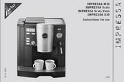 JURA IMPRESSA SCALA咖啡机 英文使用手册