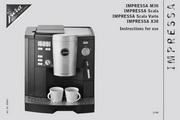 JURA IMPRESSA SCALA VARIO咖啡机 英文使用手册