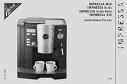 JURA IMPRESSA M30咖啡机 英文使用手册