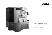 JURA IMPRESSA XS95咖啡机 英文使用手册