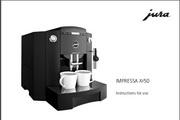 JURA IMPRESSA XF50咖啡机 英文使用手册