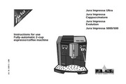 JURA IMPRESSA 5000咖啡机 英文使用手册