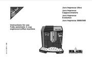 JURA IMPRESSA 500咖啡机 英文使用手册