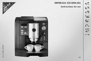 JURA IMPRESSA 401咖啡机 英文使用手册