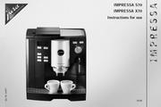 JURA IMPRESSA S70咖啡机 英文使用手册