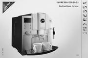 JURA IMPRESSA E25咖啡机 英文使用手册