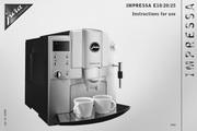 JURA IMPRESSA E10咖啡机 英文使用手册