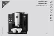 JURA IMPRESSA E5咖啡机 英文使用手册