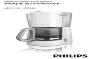 飞利浦 HD7448/70咖啡壶 使用说明书