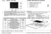 惠而浦 AKT315/IX两头搪瓷煮食炉 英文用户手册