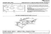 惠而浦 AKM995四头电磁煮食炉 英文用户手册