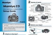 Mamiya ZD SetupGuide数码相机英文说明书