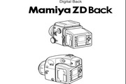 Mamiya ZD back数码相机说明书