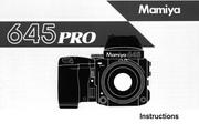 Mamiya 645 Pro数码相机说明书