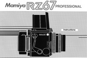 Mamiya RZ67 Pro数码相机说明书