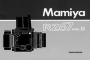 Mamiya RZ67 PROII数码相机说明书