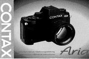 CONTAX Aria数码相机英文说明书