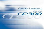 雅马哈CP300英文说明书