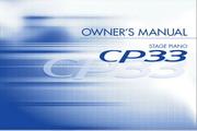雅马哈CP33英文说明书