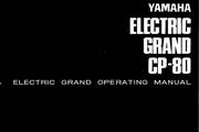 雅马哈CP-80英文说明书