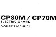 雅马哈CP80M英文说明书
