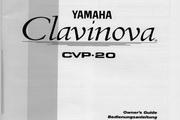 雅马哈CVP-20英文说明书