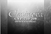 雅马哈CVP-210英文说明书