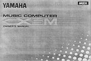 雅马哈CX5M英文说明书