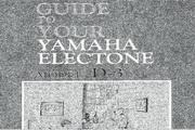雅马哈D-3英文说明书