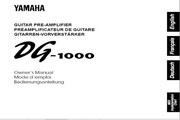 雅马哈DG-1000英文说明书