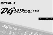 雅马哈DG60FX-112英文说明书