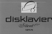 雅马哈Disklavier Mark IV  Disklavier MPX70 owners manual 说明书