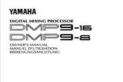 雅马哈DMP9-8说明书