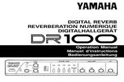 雅马哈DR100说明书