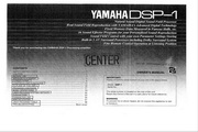 雅马哈DSP-1英文说明书