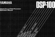 雅马哈DSP-100英文说明书