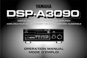 雅马哈DSP-A3090英文说明书