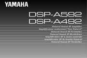 雅马哈DSP-A492英文说明书