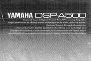 雅马哈DSP-A500英文说明书