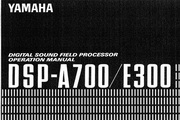 雅马哈DSP-E300英文说明书