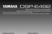 雅马哈DSP-E492英文说明书