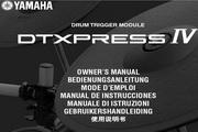 雅马哈DTXPRESS IV英文说明书