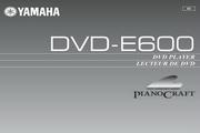 雅马哈DVD-E600英文说明书