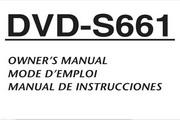 雅马哈DVD-S661英文说明书