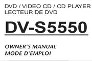 雅马哈DV-S5550英文说明书