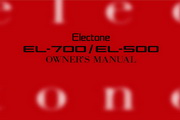 雅马哈EL-700英文说明书