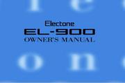 雅马哈EL-900英文说明书